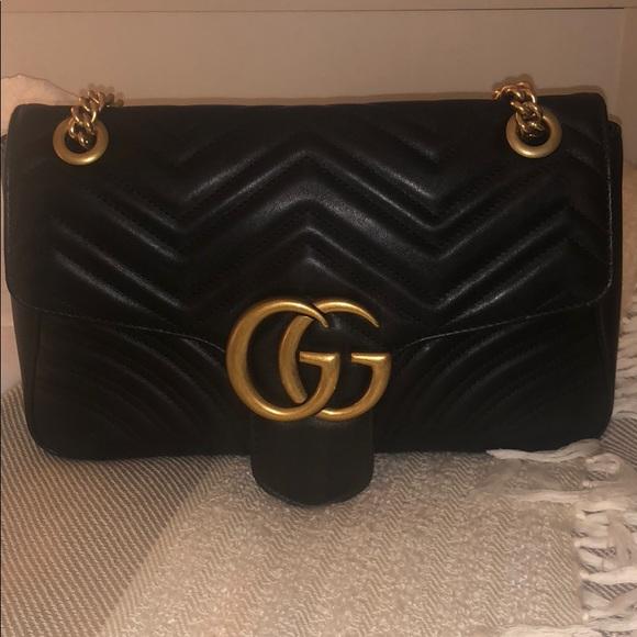 b0eb05e8f70 Gucci Handbags - Gucci Marmont Medium Flap Bag